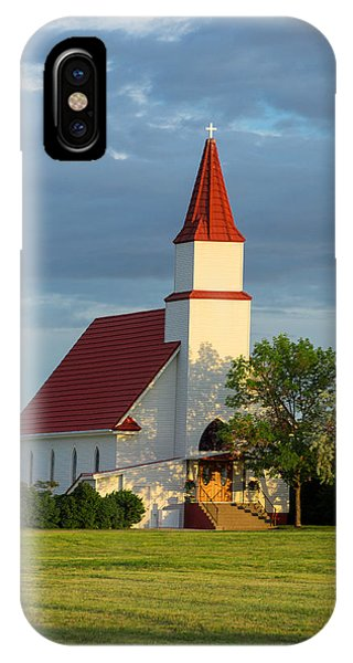 Lutheran iPhone Case - Hogeland Church by Todd Klassy