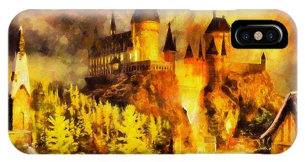 Hogwarts iPhone Case - Hogwarts by George Rossidis