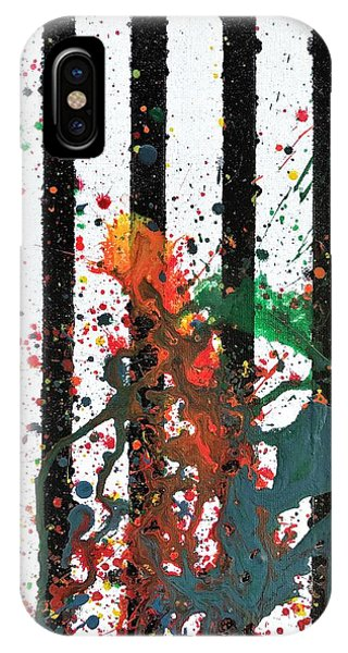IPhone Case featuring the painting Hogwarts by Robbie Masso