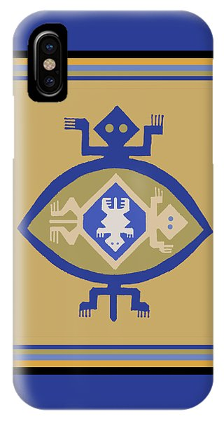 Hohokam Mimbres Turtle Family IPhone Case