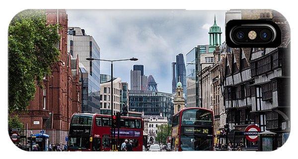 Holborn - London IPhone Case