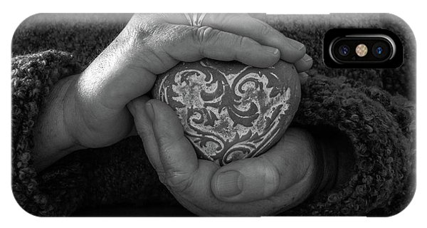 Holding My Heart In My Hands IPhone Case