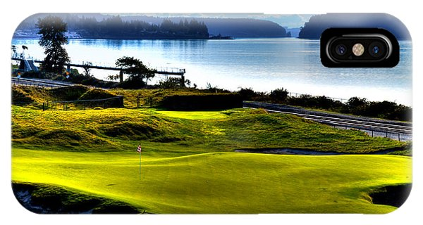 Hole #17 At Chambers Bay IPhone Case