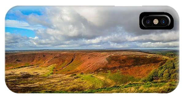 Hole Of Horcum, North York Mores, Yorkshire, United Kingdom IPhone Case