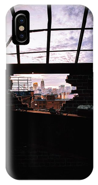 Chris Walter iPhone Case - Hole In The Wall by Chris Walter