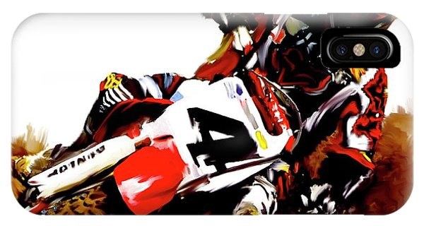 Hole Shot Ricky Carmichael IPhone Case