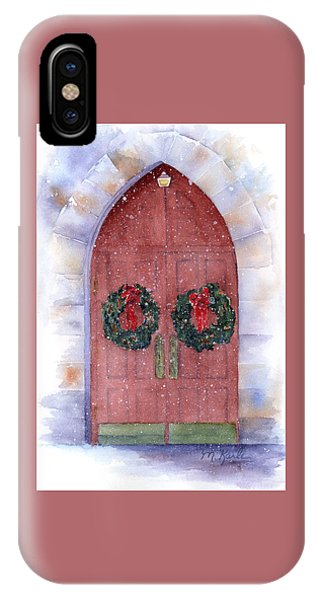 Holiday Chapel IPhone Case