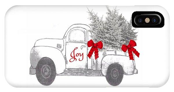 Holiday Joy Chesilhurst Farm IPhone Case