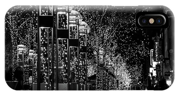 Holiday Lights - 16th Street Mall IPhone Case