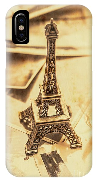 French iPhone X Case - Holiday Nostalgia In Vintage France by Jorgo Photography - Wall Art Gallery