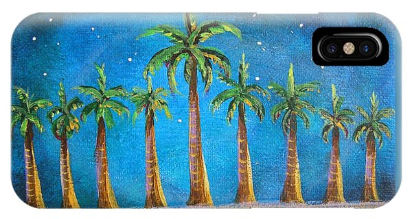 Holiday Palms IPhone Case