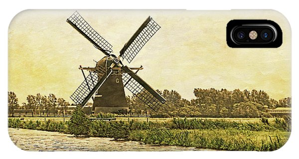 Holland - Windmill IPhone Case