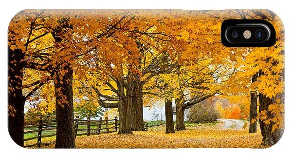 Hollis Farm IPhone Case
