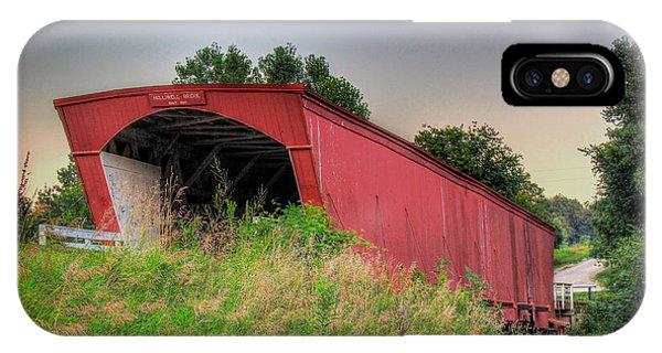 Holliwell Covered Bridge IPhone Case