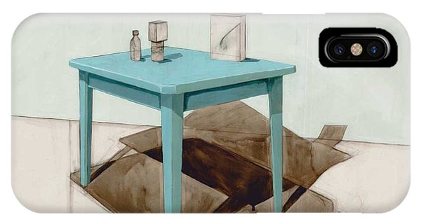 Table iPhone Case - Hollow Still Life 1 by Adrienne Romine
