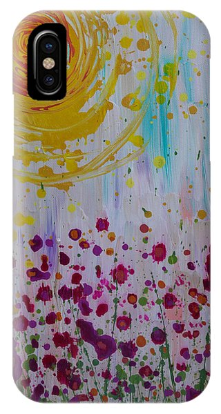 IPhone Case featuring the painting Hollynation by Jacqueline Athmann