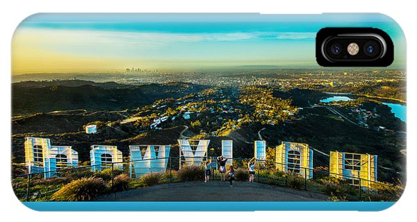 Industry iPhone Case - Hollywood Dreaming by Az Jackson