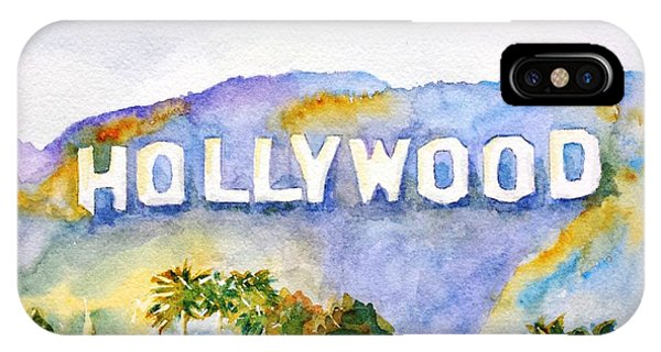 Hollywood Sign California IPhone Case