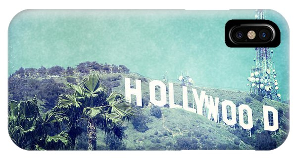Hollywood Sign IPhone Case
