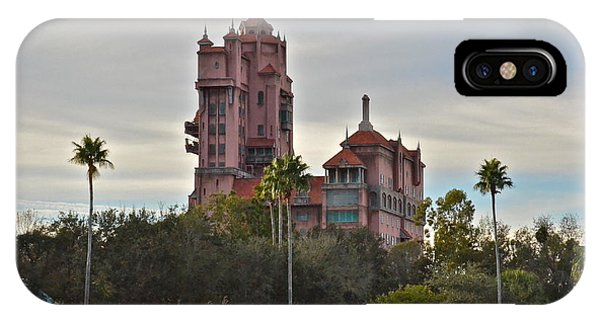 Hollywood Studios Tower Of Terror IPhone Case