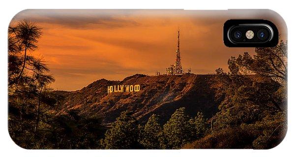 Hollywood Sunset IPhone Case