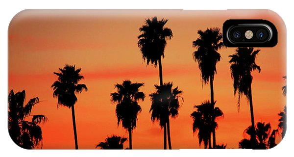 Hollywood Sunset IPhone Case