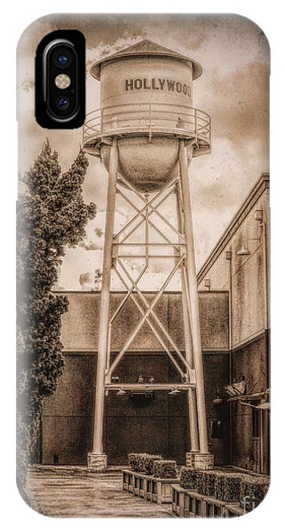 Hollywood Water Tower 2 IPhone Case