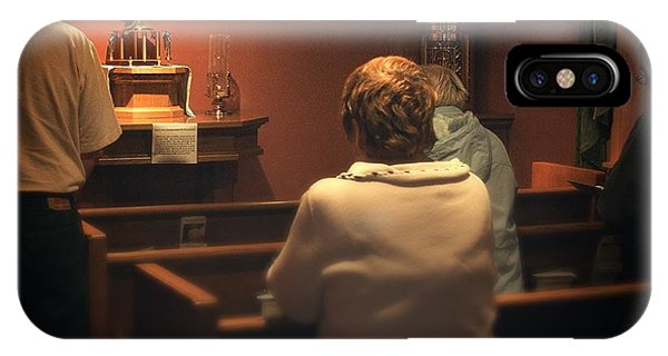Holy Adoration Altar IPhone Case
