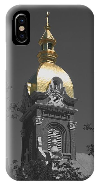Holy Church Of The Immaculate Conception - Colorized IPhone Case