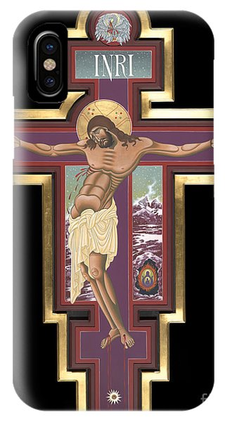 Holy Cross Of The New Advent 162 IPhone Case
