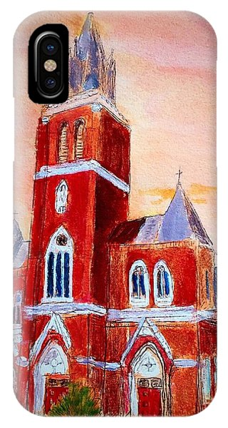 Holy Family Church IPhone Case