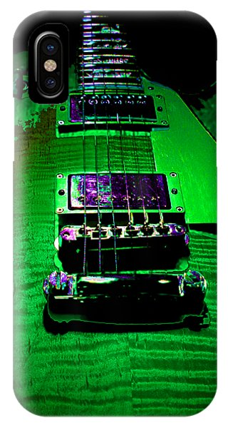 IPhone Case featuring the photograph Holy Grail 1959 Retro Relic Guitar by Guitar Wacky