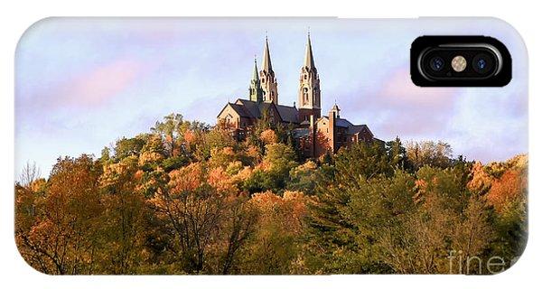 Holy Hill Basilica, National Shrine Of Mary IPhone Case