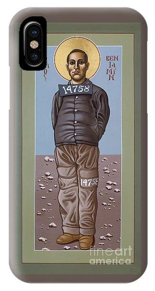 Holy Prophet Benjamin Salmon 083 IPhone Case