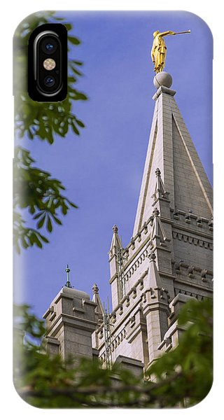 Temple iPhone Case - Holy Temple by Chad Dutson