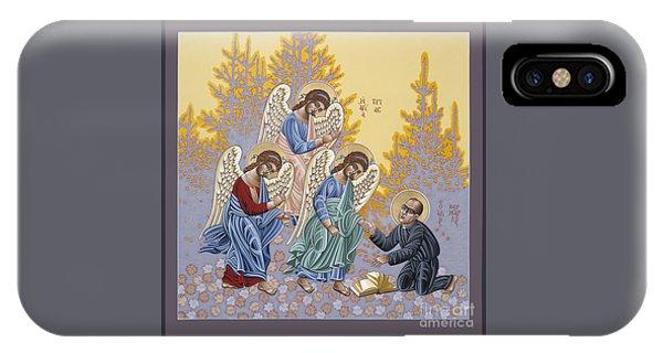 Holy Theologian Bernard Lonergan 122 IPhone Case