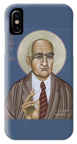 Holy Theologian Hans Urs Von Balthasar 110 IPhone Case