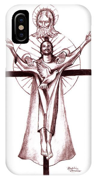 Holy Trinity IPhone Case