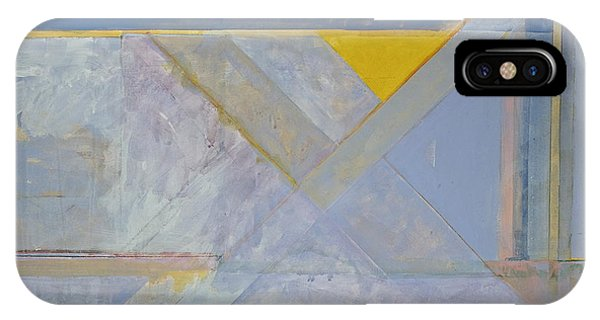 IPhone Case featuring the painting Homage To Richard Diebenkorn's Ocean Park Series  by Cliff Spohn