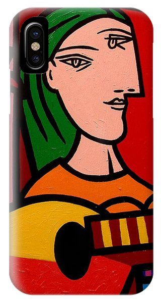 Homage To Picasso IPhone Case
