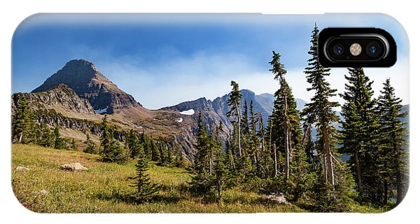 IPhone Case featuring the photograph Homage To The Mountains  by Lon Dittrick