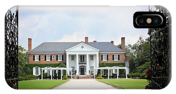 Home At Boone Hall IPhone Case