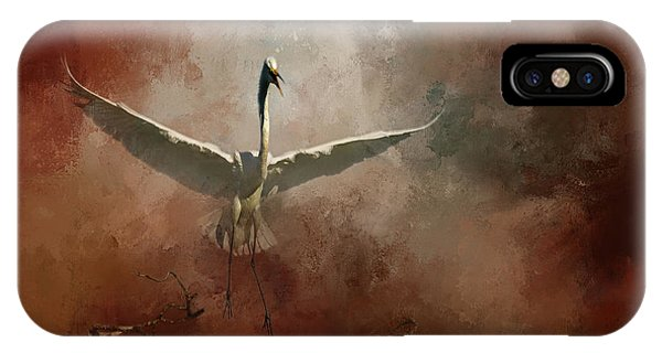Egrets iPhone Case - Home Coming by Marvin Spates