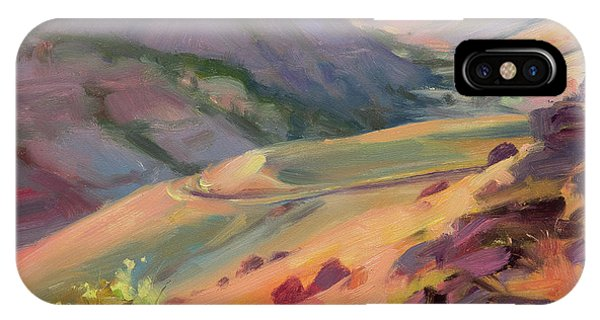 Ranch iPhone Case - Home Country by Steve Henderson