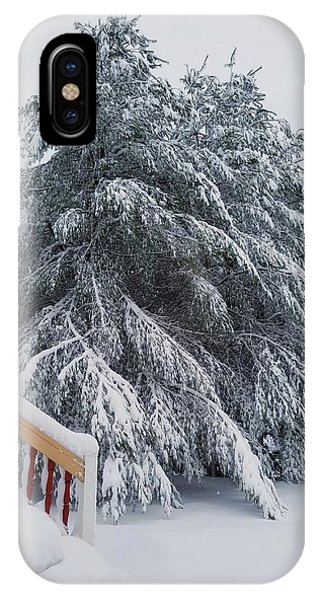 Home For The Blizzard IPhone Case