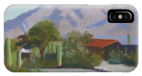 Home In The Catalinas IPhone Case