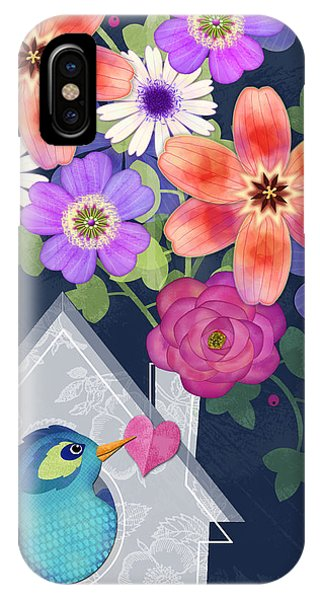 Home Is Where You Bloom IPhone Case