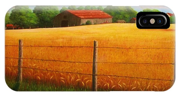 Home On The Farm IPhone Case