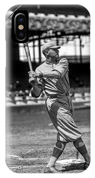 Babe Ruth iPhone Case - Home Run Babe Ruth by Jon Neidert