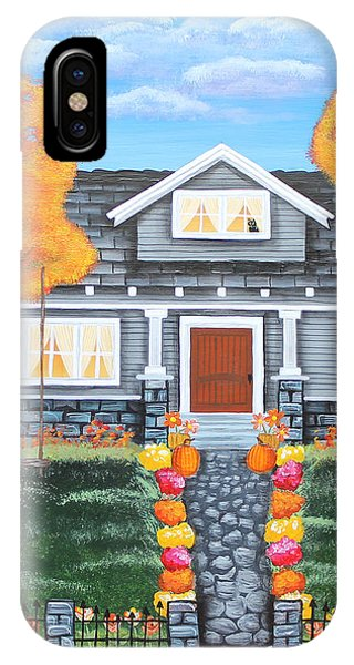 Home Sweet Home - Comes Autumn IPhone Case